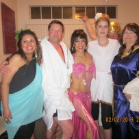 Neenah Entertaining a Toga Party