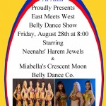 Al Amir Arlington Texas: Neenah and the Harem Jewels and Miabella and the Crescent Moon Belly Dance Company